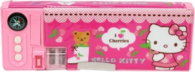 Hello Kitty School Plastic Pencil Box