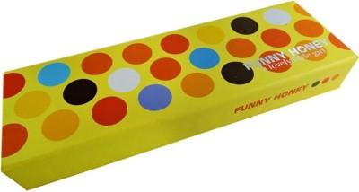 Klassik Polka Colorful Art Hard Card Board Pencil Box