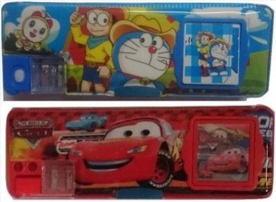 DreamBag Cartoon characters Art Plastic Pencil Boxes