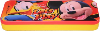 Disney Mickey Cartoon Art Plastic Pencil Box