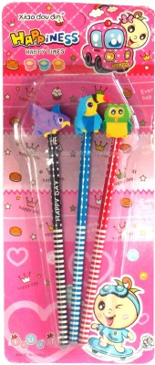 Gifting Trends Happiness Round Shaped Pencil