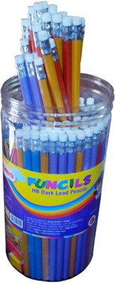 Kores With Eraser Round Shaped Pencils