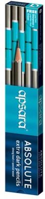 Apsara Pencil 002 Triangular Shaped Pencils(Set of 5, Multicolor)