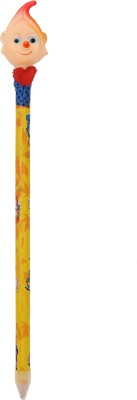Globalgifts GB6 Round Shaped Pencils(Set of 1, Yellow)
