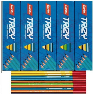 RORITO NEW TRIZY Triangular Shaped Pencils