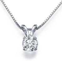 Sheetal Diamonds 14K White Gold Diamond Gold Pendant best price on Flipkart @ Rs. 34499