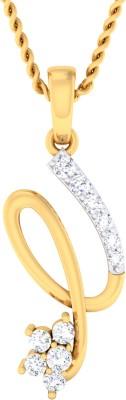 Damor Soul-Strirring 18kt Diamond Yellow Gold Pendant