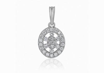Kama Jewellery Kisha White Gold Pendant