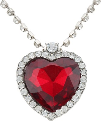 Access-o-risingg Titanic Red Heart Alloy Pendant