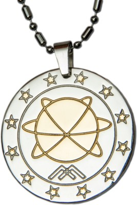 Aarogyam Energy Jewellery MST Silver, Yellow Gold Stainless Steel Pendant
