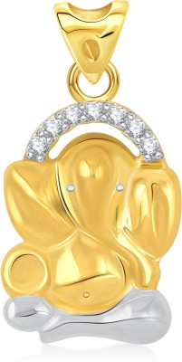 VK Jewels Chintamani 18K Yellow Gold Cubic Zirconia Alloy Pendant