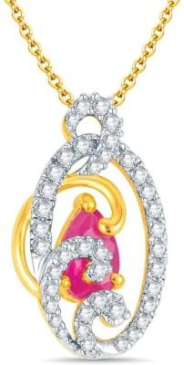 Mani Jewel Divya Collection Yellow Gold Pendant