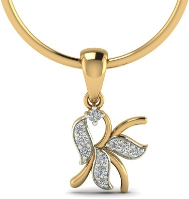 Aamanat First Rate Rhodium Sterling Silver Pendant
