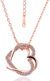 Cinderella Fashion Jewelry Heart Crystal Pendant