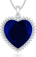 VK Jewels Heart of Ocean Titanic Heart Shape Rhodium Cubic Zirconia Alloy Pendant best price on Flipkart @ Rs. 810