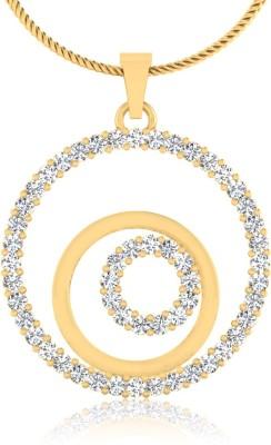 WearYourShine by PC Jewellers The Coretta 14kt Diamond Yellow Gold Pendant