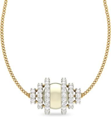 WearYourShine by PC Jewellers PC Jeweller The Isleenn 18kt Diamond Yellow Gold Pendant at flipkart
