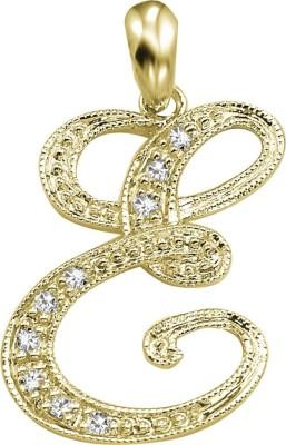 Kiara Jewellery Rhodium Cubic Zirconia Sterling Silver Pendant