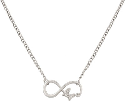 Access-o-risingg Silver Infinity HOPE and Alloy Pendant