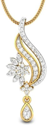 Candere Nayana 14kt Diamond Yellow Gold Pendant