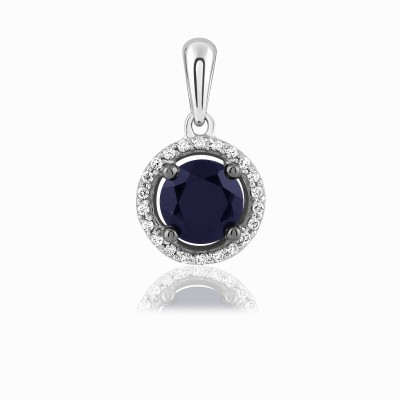 Kama Jewellery Tanessa 9kt Diamond White Gold Pendant