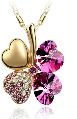 Cinderella Fashion Jewelry Contemporary Crystal Pendant