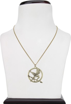 Access-o-risingg Hunger Games Bronze Bird Pendant Alloy
