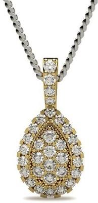 Zomint Drops of Jupiter 18kt Diamond Yellow Gold Pendant