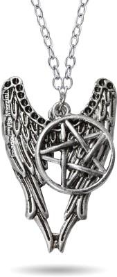 Via Mazzini Famous Supernatural Pentagram Amulet Pendant Metal