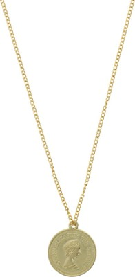 Niara Long Chain Immitation Brass Brass Locket