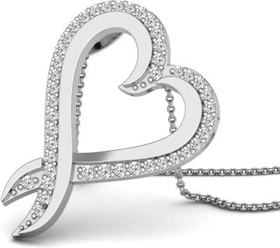 Caratlane Alvira Diamond Silver Pendant