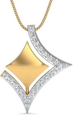 Damor Inheritance 18kt Diamond Yellow Gold Pendant