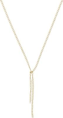 Niara Golden Chain Brass Brass Locket