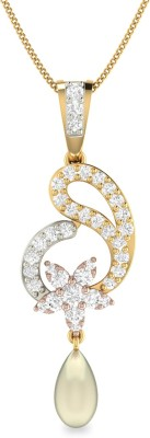WearYourShine by PC Jewellers PC Jeweller The Connal 18kt Diamond Yellow Gold Pendant at flipkart