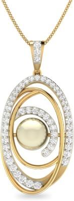 WearYourShine by PC Jewellers PC Jeweller The Illene 18kt Diamond Yellow Gold Pendant
