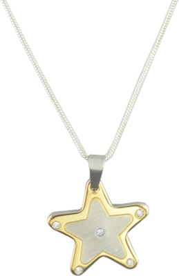 Diovanni Yellow Gold Stainless Steel Pendant