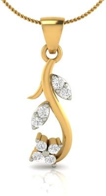 Demira Jewels Allure Chic Pendant 14kt Diamond Yellow Gold Pendant