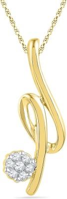 JPearls Hansi Diamond Yellow Gold Pendant