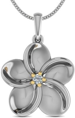 Jack n Jewel Hallmark Certified Diamond Yellow Gold Pendant