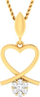 Damor Ritzy 14kt Diamond Yellow Gold Pendant