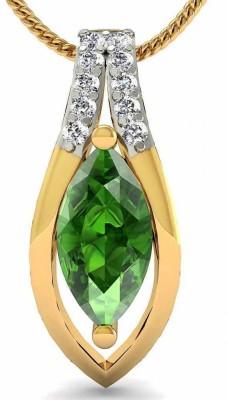 Rasav Jewels Creative Designs 18kt Diamond Yellow Gold Pendant