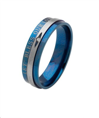 Voylla Artificial Alloy Silver Plated Ring at flipkart
