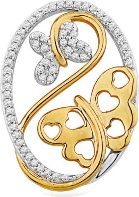 JPearls Designer Pendant 18kt Diamond Yellow Gold Pendant