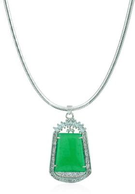 BoBell Silver Jade Alloy Pendant
