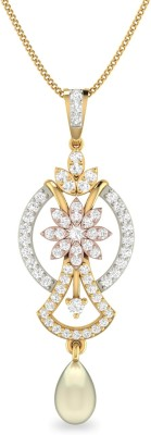 WearYourShine by PC Jewellers PC Jeweller The Bronna 18kt Diamond Yellow Gold Pendant at flipkart