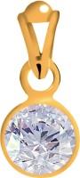Clara Zircon 6.5 carat or 7.25ratti Panchdhatu Yellow Gold Cubic Zirconia Silver Pendant best price on Flipkart @ Rs. 1740