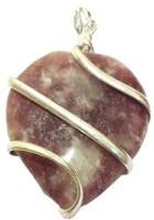 Satyamani Fancy Jasper Heart Wrapped Agate Stone Pendant best price on Flipkart @ Rs. 1502
