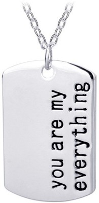 Bling N Beads You are my everything love Silver Silver, Alloy Pendant
