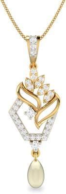WearYourShine by PC Jewellers PC Jeweller The Chrissa 18kt Diamond Yellow Gold Pendant at flipkart
