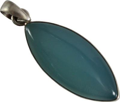 GnJ Sky Sterling Silver Chalcedony Sterling Silver Pendant